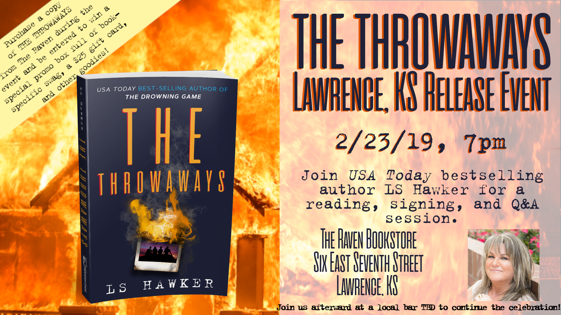 THE THROWAWAYS Lawrence, KS Release Event