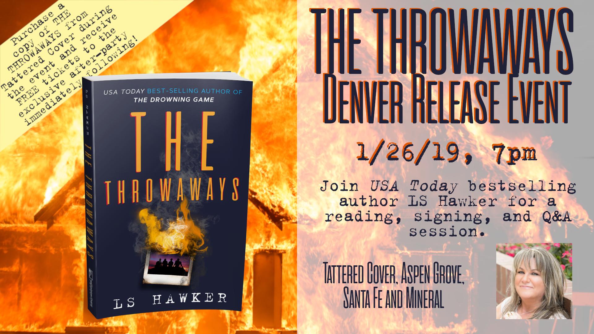 THE THROWAWAYS Denver Release Event